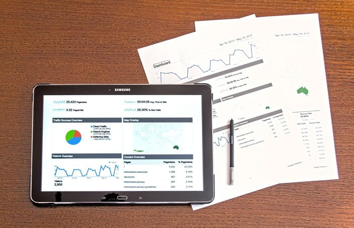 Sales productivity reports generated from cleaning software