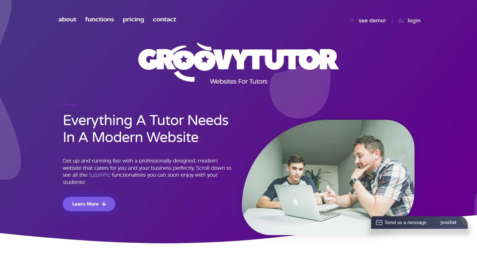Thumbnail for copywriting of Groovy Tutor