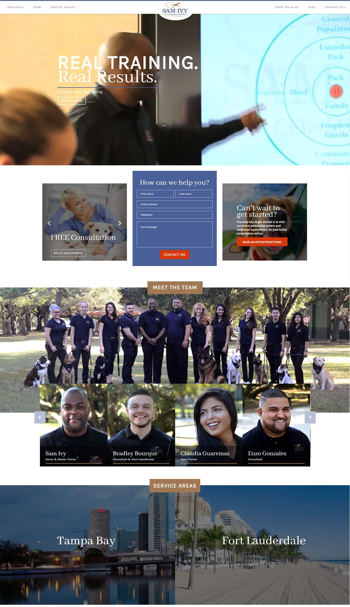 Web Design Brisbane - SamIvy