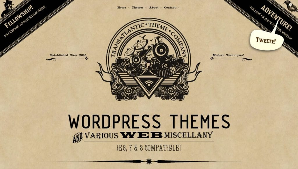WordPress Web Design Brisbane - Transatlantic Theme Co